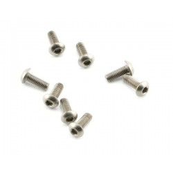 Abec35 Titanium screws 3x8mm BH (10pcs)