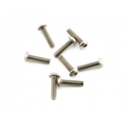Abec35 Titanium screws 3x12mm BH (10pcs)