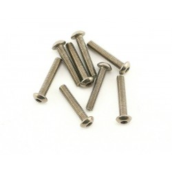 Abec35 Titanium screws 3x15mm BH (10pcs)