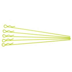 Xceed extra long body clip 1/10 fluorescent yellow