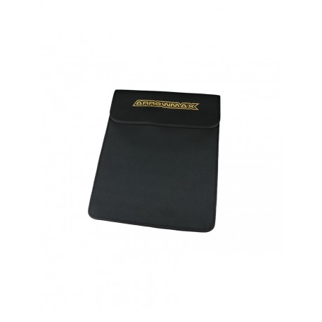Arrowmax bag for graphite set up board 1/8 and 1/10 black golden