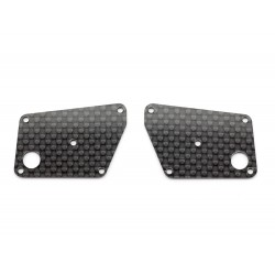 REAR LOWER SUSPENSION ARM COVER (CARBON) / IF15