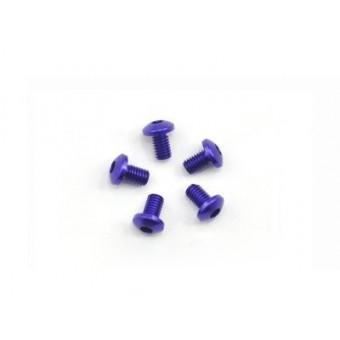 Arrowmax aluminum screw allen roundhead M3*5 Purple 7075 (5pcs)