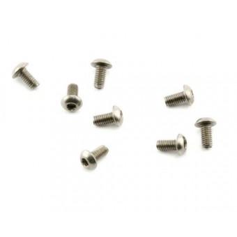 Abec35 Titanium screws 3x6mm BH (10pcs)
