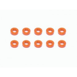 Arrowmax Aluminum Shims 3x6x2-Orange(10)
