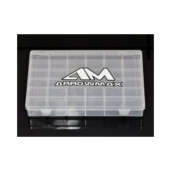 Arrowmax 10-compartments parts box small 132x68x22mm